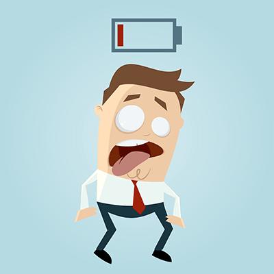 Berufsunfähigkeit, Burnout