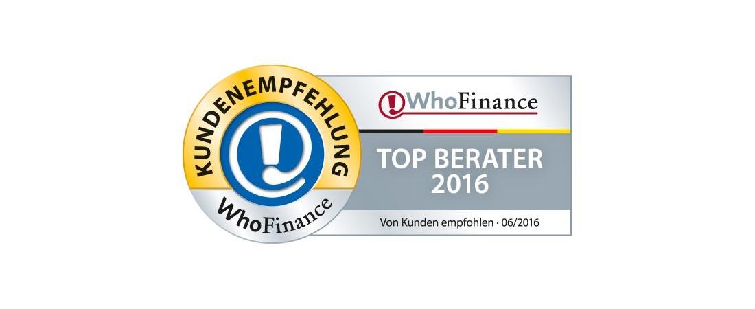 Top Berater 2016, Benedikt Dernbecher