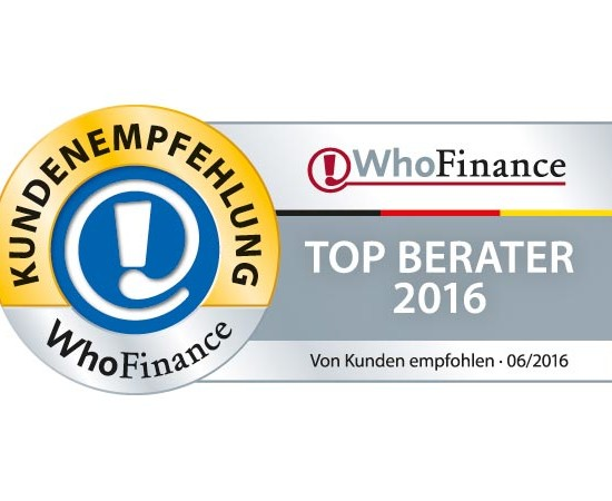 Top Berater 2016, Benedikt Dernbecher